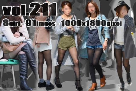vol211-魅力的なむち脚丸出しランガード