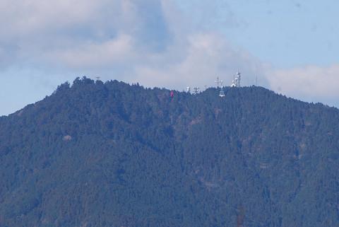 本宮山が見える