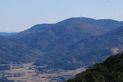 黄柳野と富幕山だろう