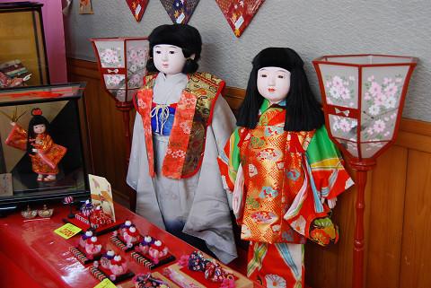 市松人形がきれい