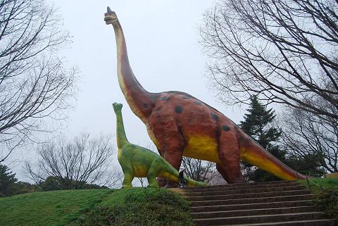 ブラキオサウルス親子