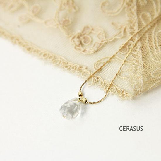 CERASUS(ケラスス) Rouge Cut クリスタルブレスレット