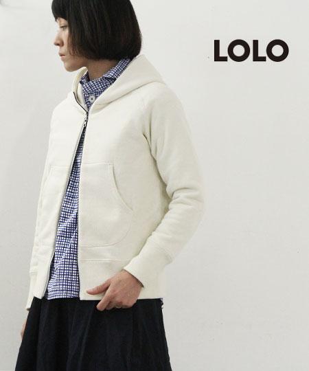 LOLO (ロロ) 定番プルオーバー型ペンシルチェックシャツ