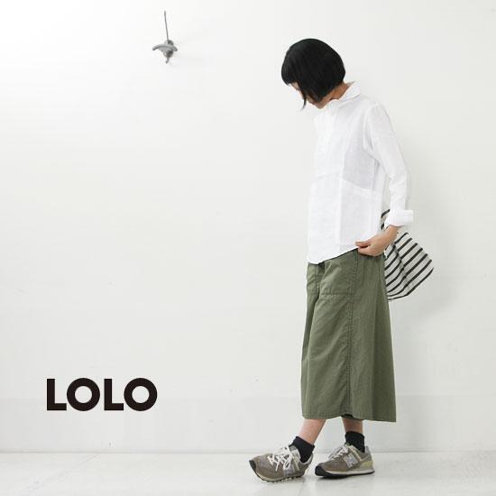 LOLO(ロロ) 定番プルオーバーリネン
