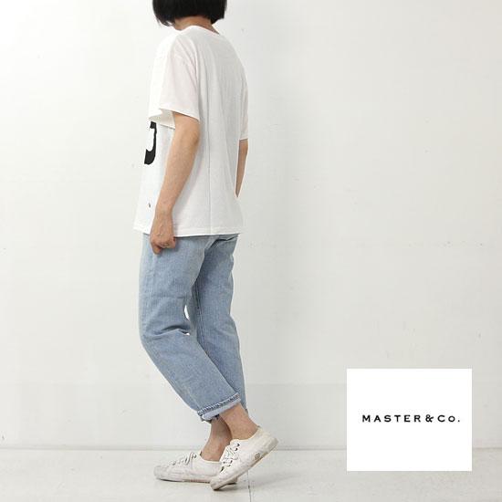 MASTER & Co. (マスターアンドコー) ショートスリーブプリントTシャツ