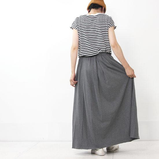 MidiUmi (ミディウミ) ギャザードロングスカート