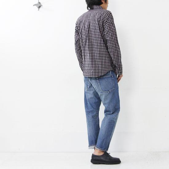 nisica(ニシカ) チェックボタンダウンシャツ