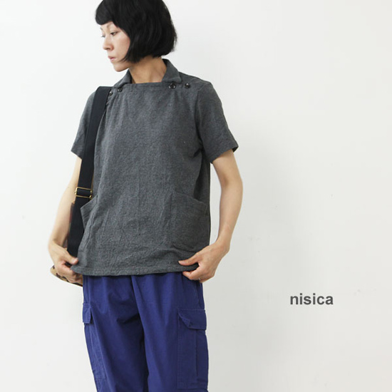 nisica(ニシカ) 半袖デッキマンカットソー
