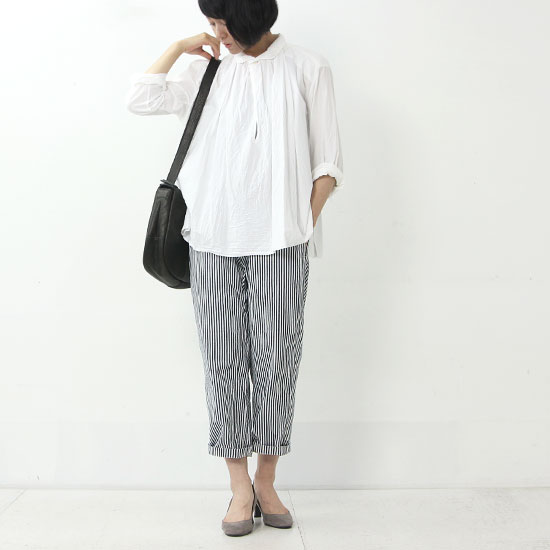 Ordinary Fits (オーディナリーフィッツ) Cotyle別注 FRENCH CROPPED PANTS HICKORY