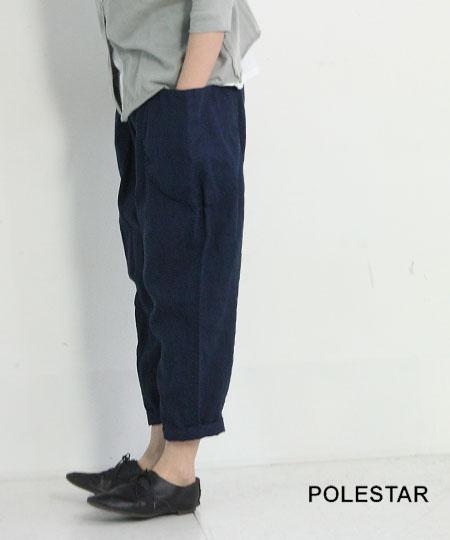 POLESTAR (ポールスター) リネン丸ポケットテーパードパンツ
