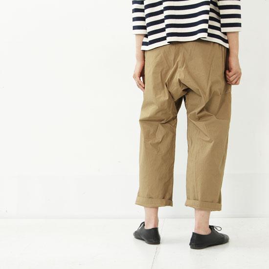 style + confort(スティールエコンフォール) ホースクロスサイドポケットサルエルパンツ