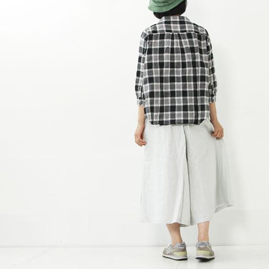 style + confort(スティールエコンフォール) リネンワイドキュロット