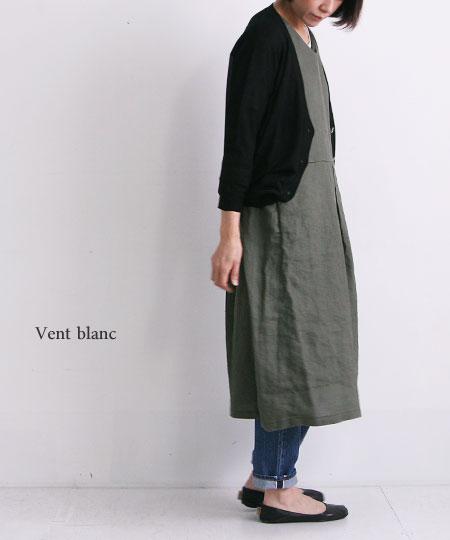 Vent Blanc (ヴァンブラン) リネンワンピース