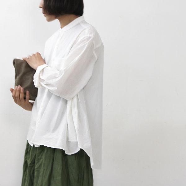Veritecoeur (ヴェリテクール) コットンちび衿ブラウス