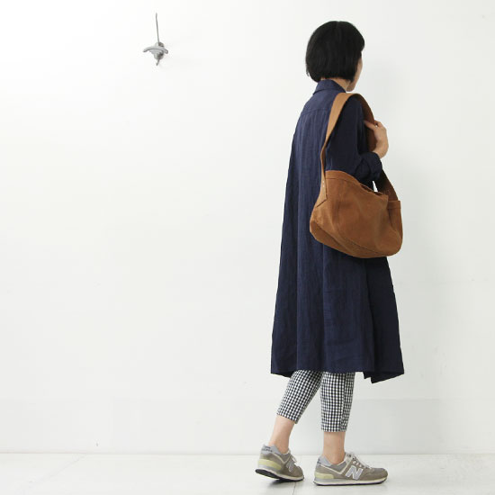 Veritecoeur(ヴェリテクール) 丸衿コートワンピース