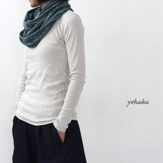 yohaku (ヨハク) 5 stitch l/s tee