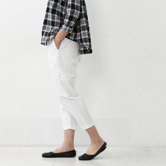 YAECA(ヤエカ) TUCK PANTS