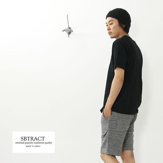 SBTRACT(サブトラクト) UNEVEN C/N TEE