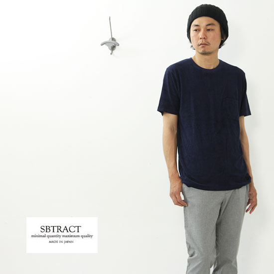SBTRACT(サブトラクト) PILE CREW TEE