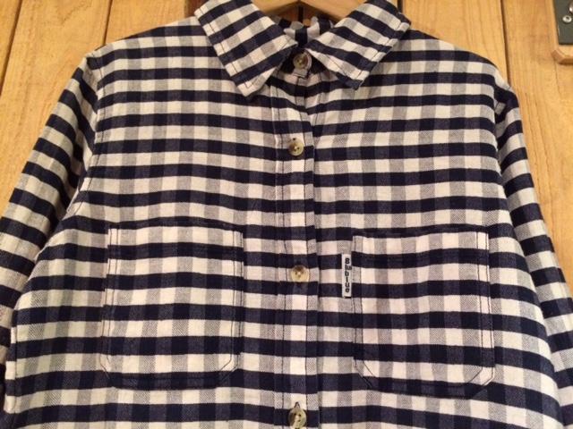 BB ハンドウーヴンチェックシャツ ウィメン1ズ