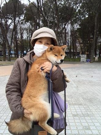 ダイヤ コタのお母さんと 2015-03-09