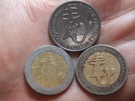 すりきれたコイン1