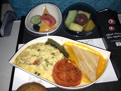 機内食の朝食