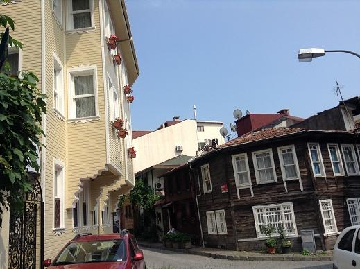 きれいな街並みのイスタンブール
