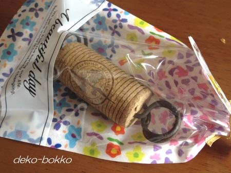 haminちゃん コルクカード立て 201506