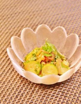 胡瓜とみょうがと大葉でご飯のおとも (272x350)