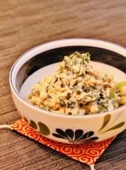 小松菜とわかめの白和え (258x350)