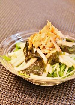 わかめと長芋☆トロネバサラダ (250x350)