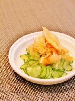 胡瓜大量消費 超簡単サラダ (262x350)