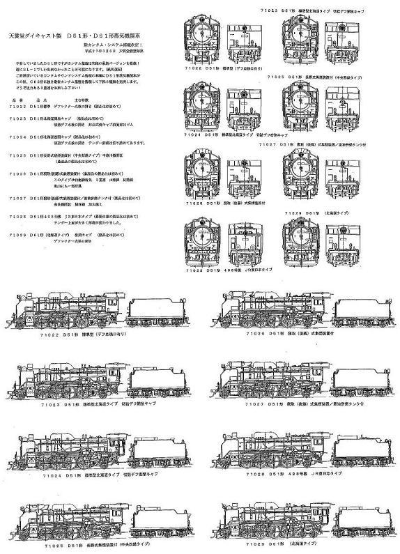 天賞堂D51あ