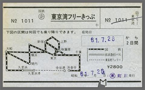 東京湾フリーきっぷ