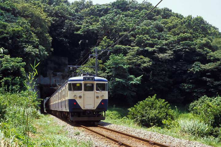 610728_内房線_上総湊~竹岡_113系普通列車