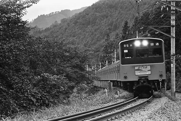 s6109青梅線古里駅-鳩ノ巣駅間201系特快おくたま号_002
