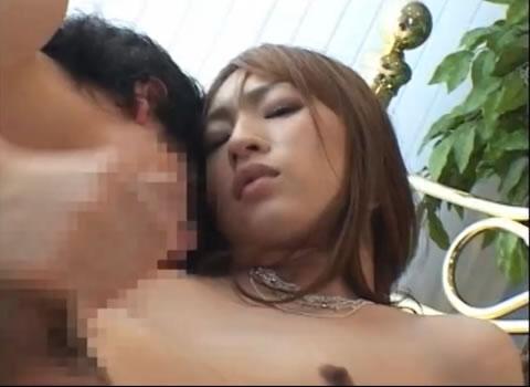 女装子 ニューハーフ 射精の瞬間