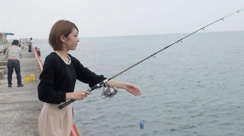 ~生脱ぎ!?サイコロDEデート!in海釣り公園~ れいなちゃん「やんちゃな子猫 神戸元町店」