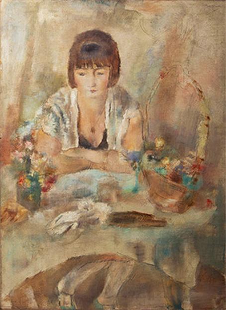テーブルのリュシー 1928 個人蔵 16㎝