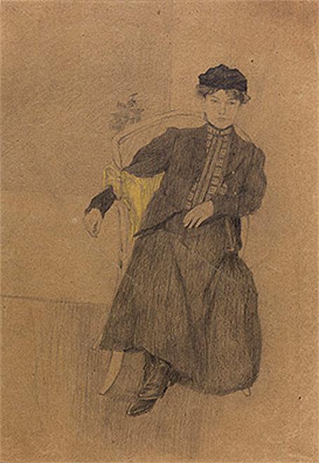 ミュンヘンの少女 1903 パリ市立近代美術館
