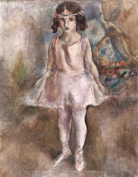 幼い踊り子 1924 パリ市立近代美術館 16㎝
