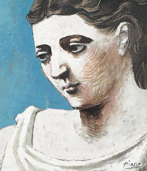 ピカソ 女の顔 17cm 1923 SCN_0005