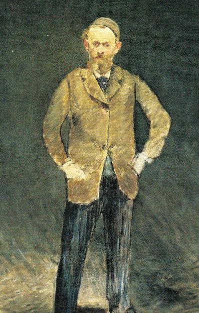 マネ自画像 1878 14㎝