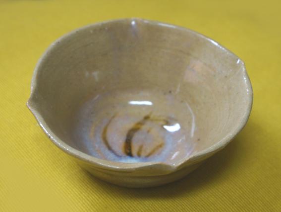 20150322 唐津焼の小鉢 20㎝ DSC09327