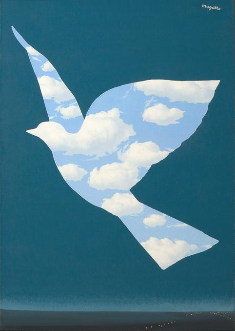 空の鳥1966 18cm