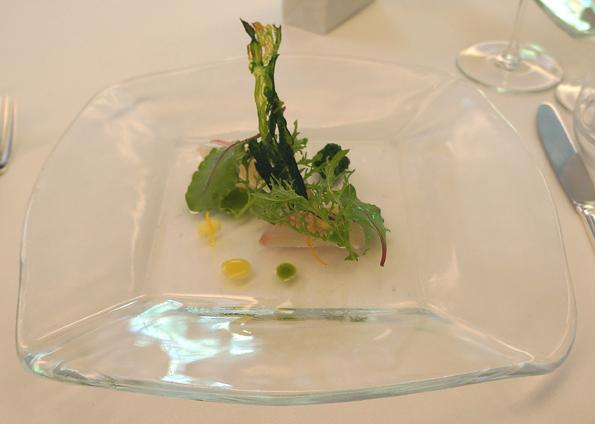 20150513 山崎 2 真鯛のマリナート 菜の花とセロリ 21㎝DSC04286