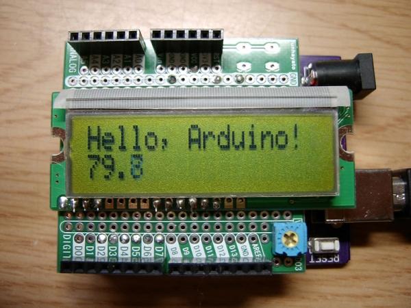 Arduino_LCDシールド