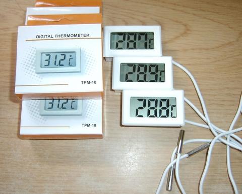 ヤフオクの温度計