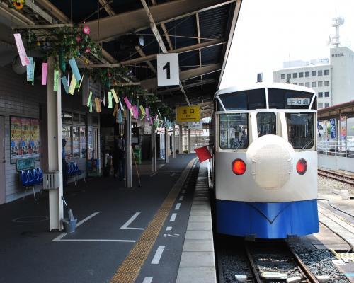 宇和島駅1番ホーム